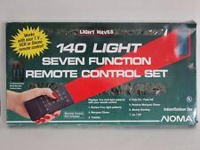 2 Boxes HTF VINTAGE Noma LIGHT WAVES Remote SEVEN FUNCTION XMAS TREE STRING SET