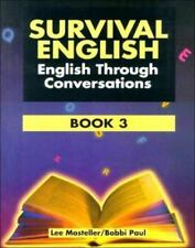 *BRAND NEW* SURVIVAL ENGLISH : BOOK 3 ENGLISH THROUGH CONVERSATIONS 2nd EDITION