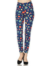 PLUS SIZE Buttery Soft Always Brushed Christmas Leggings TC/P266