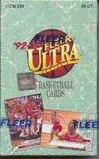 Fleer Ultra Series 1 NBA Basketball Hobby box 1992/93