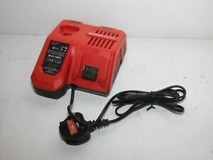 Milwaukee M12-18FC 12 - 18V Lithium RAPID Battery Charger 220/240V Fully Working