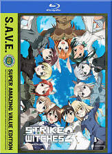 Strike Witches 2 Complete Limited Edition (ray/DVD, 2012, 4-Disc) R1 Anime NEW