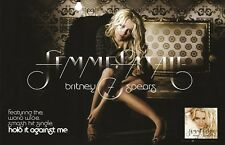 Britney Spears poster - Femme Fatale promotional poster - 11 x 17 inches