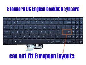 US black backlit keyboard for Asus ZenBook Q536FD