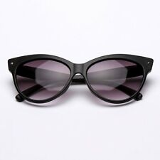 Women Sexy Clear Lens Cat Eye Glasses Frame Luxury Summer UV Protect Sunglasses