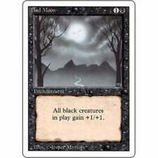MTG REVISED (3RD EDITION) * Bad Moon - Condition: Good