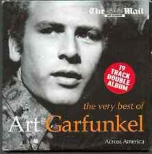 ART GARFUNKEL - ACROSS AMERICA: 19 TRACK DOUBLE ALBUM - UK PROMO 2 CD SET (2005)