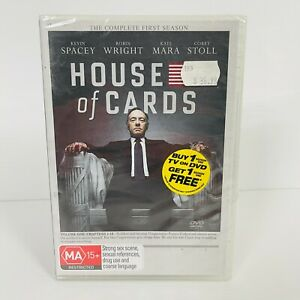 House of Cards The Complete First Season 1 DVD New & Sealed Region 4 Free Post