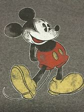 Mickey Mouse Florida XXL T-Shirt Cartoon Amusement Park Walt Disney 2xl Ringer