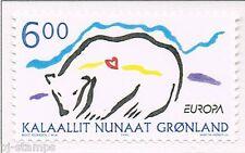 1999 Groenland 338 Europa CEPT Nationale parken