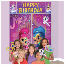Shimmer Shine Scene Setter Backdrop Booth Party Wall Decoration Photo Props New
