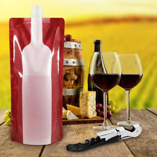 Plastic Wine Bag Wine Carriers for Travel Clear Wine Bags Wine Portable Bags RU