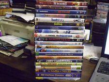 (25) Kids Adventure DVD Lot: Disney Incredibles  Tooth Fairy  ParaNorman  Robots