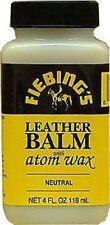 Fiebing's Neutral 4oz Leather Balm with Atom Wax