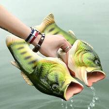 Emulational Fish Style Soft Sandals Beach Slippers Casual Shoes for Women Men