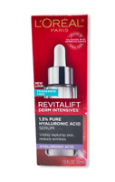 L'Oreal Revitalift Derm Intensives 1.5% Pure Hyaluronic Acid Serum 1.0oz NEW