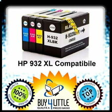 4 Cartucce Compatibile HP 932 XL - 933 XL HP Officejet 6100/6600/6700/7510/7610
