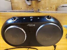 GE General Electric Portable Double Burner Hot Plate Cooktop Countertop Stove