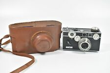 Vintage ARGUS C3 35mm Fim Camera With Leather Case