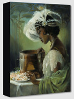 Disney Fine Art Treasures On Canvas Collection Dig A Little Deeper-Tiana-Edwards