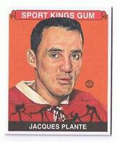 2008 Sportkings Hockey Card Mini Jacques Plante #88