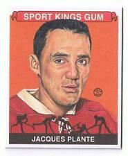 2008 Sportkings Hockey Card Mini Jacques Plante #88