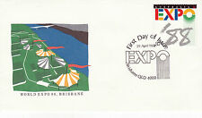 AUSTRALIA 29 APRIL 1988 EXPO 88 OFFICIAL FIRST DAY COVER SHSa