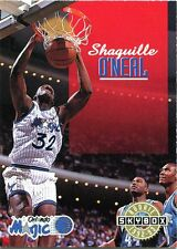 1992-93 SkyBox Shaquille O'Neal Rookie Card #382 Orlando Magic LSU