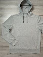Mens NEXT Pullover Hoodie Sweatshirt Size Large L | Light Grey | VGC