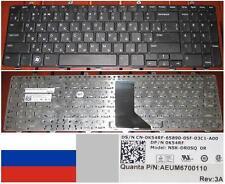 Clavier Qwerty Russe DELL Inspiron 1564 0K54RF NSK-DR0SQ AEUM6700110 Noir