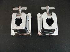 "Pair (2) NEW 3/4"" Tom Drum Mounts for Arm Posts. Drum Mounting Bracket Parts."