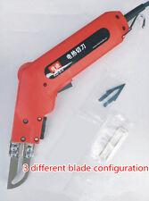 KD-5-0 Cloth fabric cutter,electric cutting machine,plastic cutter blade,3 in 1
