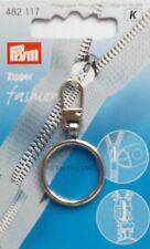 Silver Ring New 4.5cm x 2.5cm New Vat Free Prym Zip Pull Zipper Puller Fashion