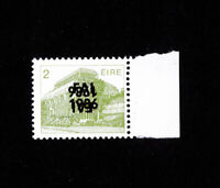 Ireland Stamps # 538 XF OG NH Error Double Ovpt with (1) inverted