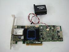 Adaptec ASR-6445 512MB SAS/SATA 6Gbs PCIe RAID Controller W/ Battery
