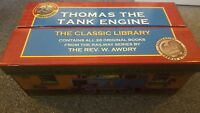THOMAS THE TANK ENGINE - THE CLASSIC LIBRARY - CONTAINS ALL 26 ORIGINAL BOOKS