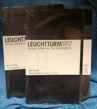 2 x LEUCHTTURM 1917 A5 Soft Cover Dotted Notebook Bullet Journal New Sealed g10