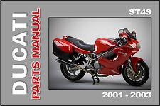 e classicbike manuals ebay stores rh ebay com Ducati ST4 Sport-Touring Ducati ST4 Sport-Touring