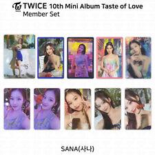 TWICE 10th Mini Album Taste of Love Official Photocard Sana KPOP K-POP