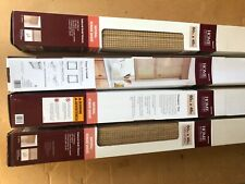 Bamboo shades light filtering Home Depot decorator collection UV 4 boxes