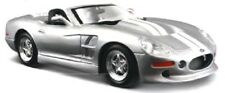 Maisto 1/24 Scale Diecast Metal 1999 Shelby Series One Silver