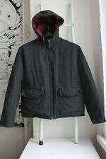 Authentic Hermes Paris men cashmere nylon reversible jacket Size 48/S-M