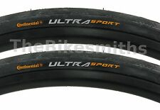 2PAK Continental Ultra Sport II 700 x 23 25 28 or 32mm Road Bike Tire Wire Bead