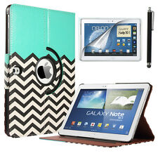 "For Samsung Galaxy Note 10.1"" SM-P600 2014 Edition PU Leather Case Smart Cover"