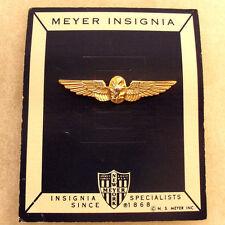 NAM ERA US NAVY FLIGHT SURGEON SHIRT WING 2 PIECE CONST ON MEYER CARD NO HM CB