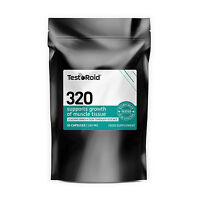 TESTOROID 320 TESTOSTERONE BOOSTER & ESTROGEN BLOCKER STRONGEST AVAILABLE