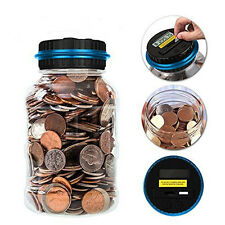 Electronic Digital Coin Counter Automatic Money Counting Saving Piggy Bank  Pop