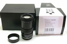 Meyer Optik Görlitz Trioplan 100mm f2.8 Objektiv MFT Micro Four Thirds M4/3 BOX MINT