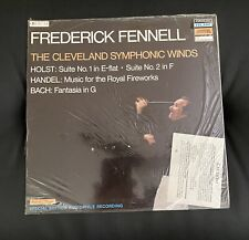 """FENNELL Holst/Handel/Bach Telarc Digital 5038 Germany """"STILL SEALED"""" 1978 LP!"""