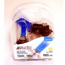 Nokya 9005 Arctic White Stage 2 Headlight Halogen Light Bulb for Honda High Beam